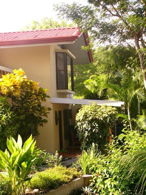 B&B in a lush tropical garden!