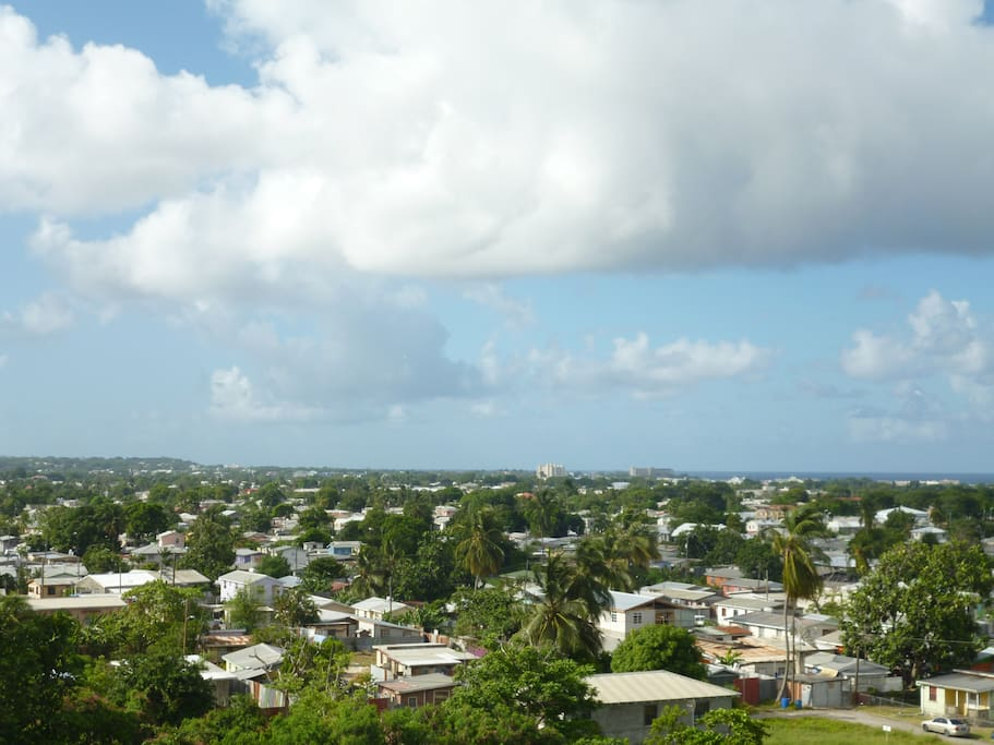 Bridgetown city views