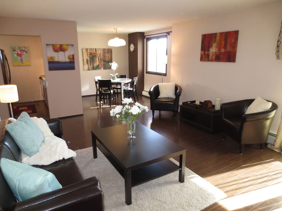 Spacious and comfortable, you will feel relaxed and at home
