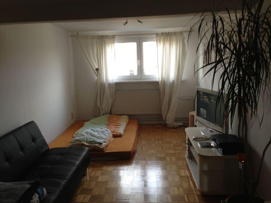 Zimmer 2. Schlafplatz für max. 3