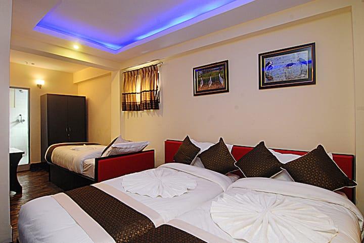 Hotel Gallery Nepal family room BNB