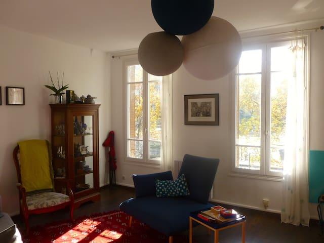 Appartement calme  à proximité de Paris