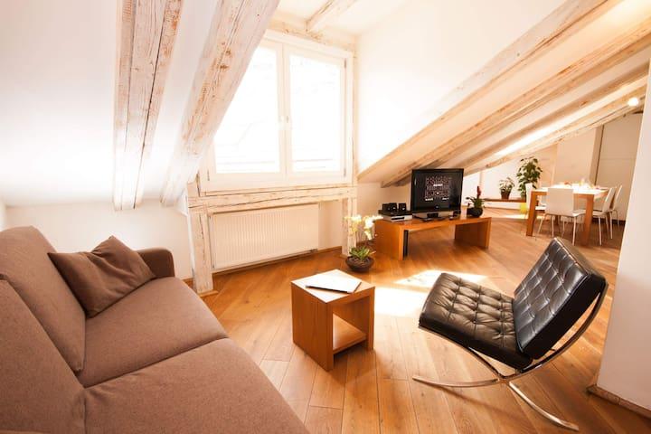 kozna loft a 2br prague old town wohnungen zur miete. Black Bedroom Furniture Sets. Home Design Ideas