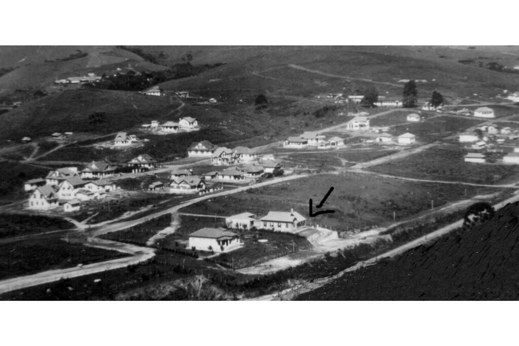 Foto da casa no ano de 1941.