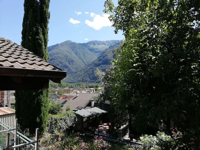 Vista panoramica sui monti