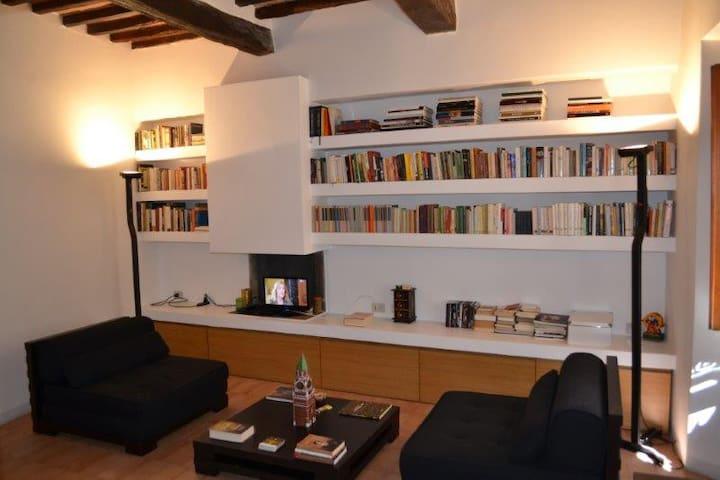 Designer apartment in Tuscany - Castelmuzio