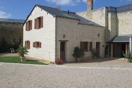 Gîte semi-troglodyte 5 p proche de Saumur et Doué