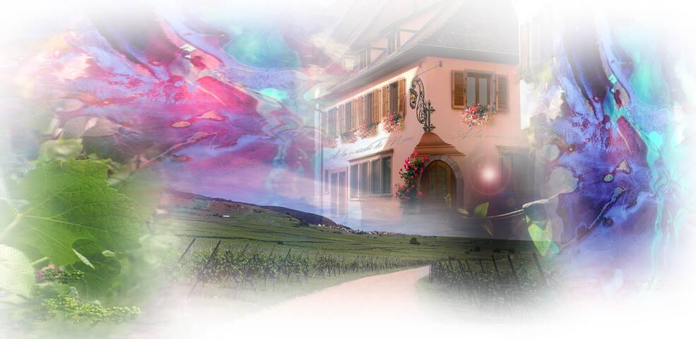 A la maison de Marie - Grande Salle - Gueberschwihr - Apartamento
