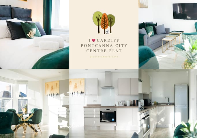 I ❤️ Cardiff - 1BR Pontcanna's City Centre Flat
