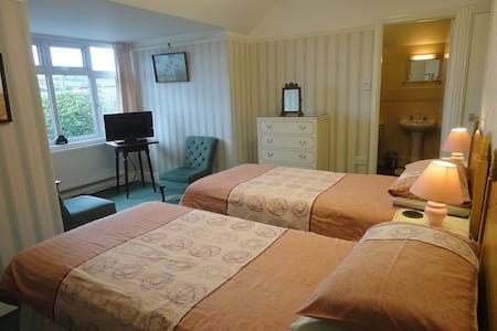 Great Value B & B Great Location Twin Room - Bridport