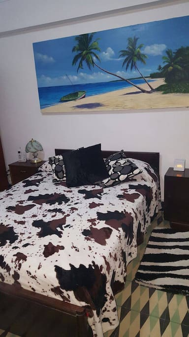 furnished room,full bed