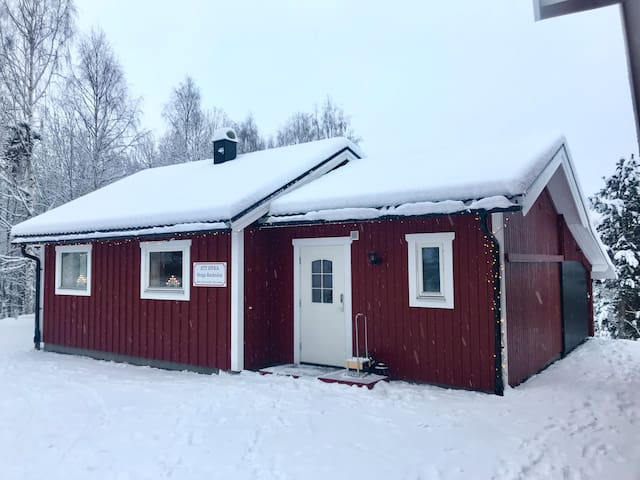 """Cosy cottage """"Backnära"""",next to the ski slope"""