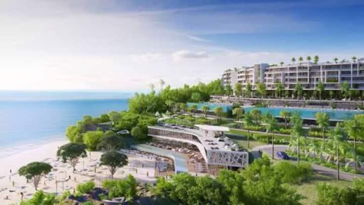 Luxury beachfront condo in BOLONGO Punta mita