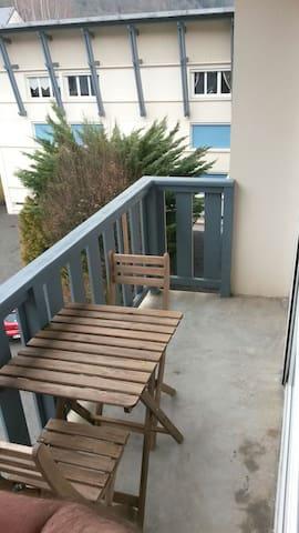 Joli T3 60m st lary soulan centre - Saint-Lary-Soulan - Apartament