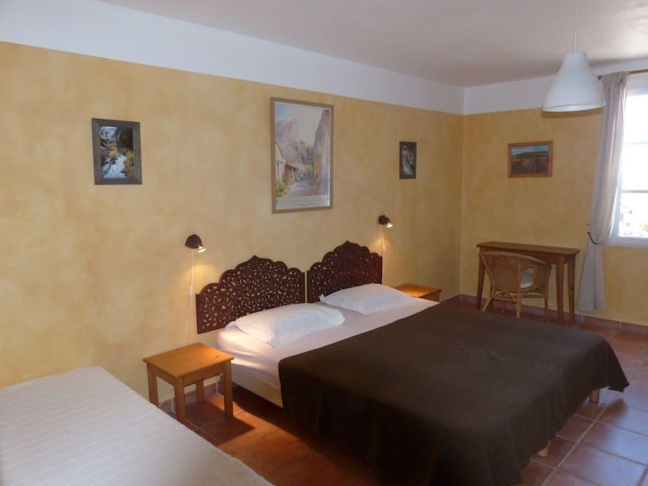 Marignol, chambre de 1 à 4 personnes de 20m²