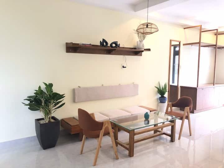 Rial studio apartment (cozy house, full furniture)