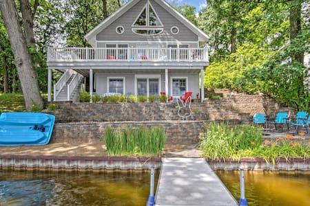 Lakefront Colon Home w/Serene Views & Private Dock