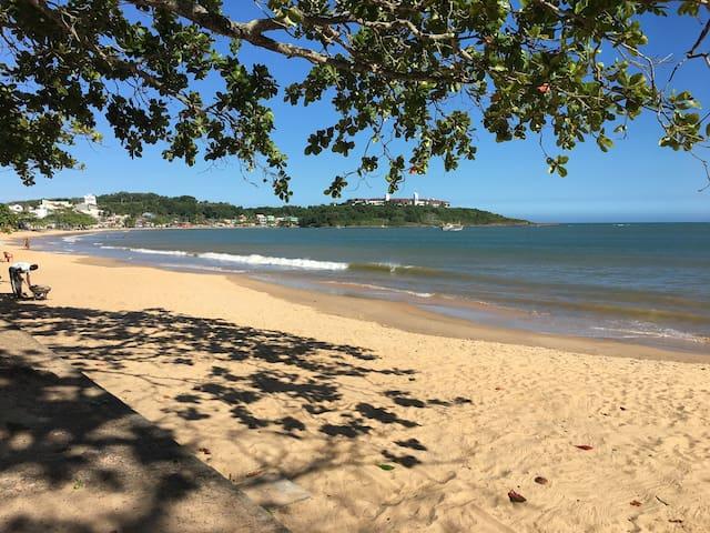 Casa em Ubu em frente à praia