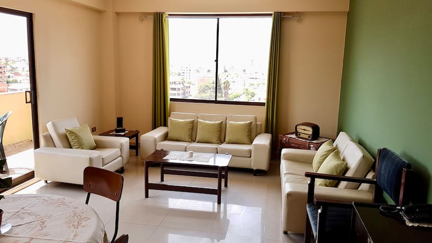 Cozy apartment with panoramic views - Cochabamba - Apartment