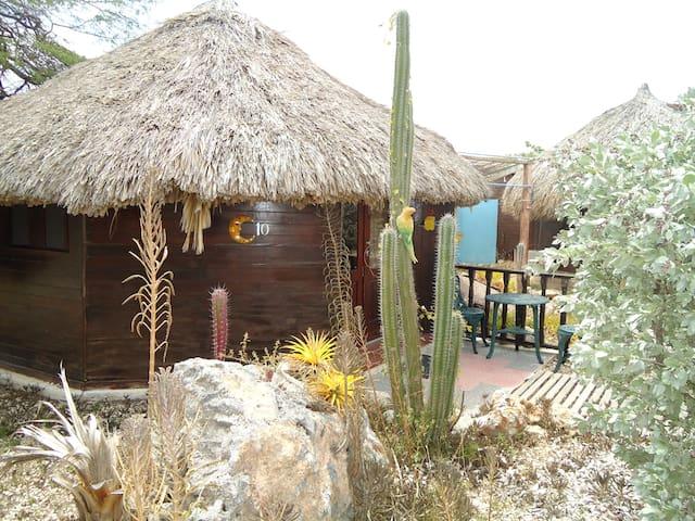 Cabin w/kitchennette across  Mambo/Mood Beach