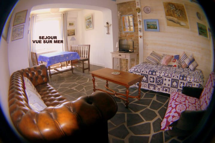 Maison de charme baie de Morlaix - Plougasnou - Huis