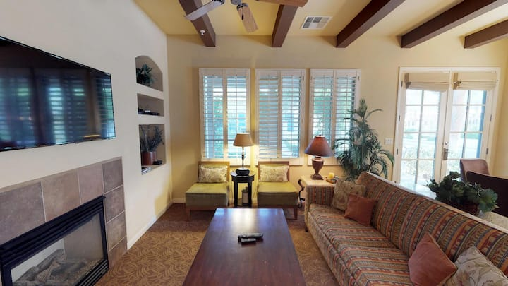 (LV213) Single Story Two Bedroom Villa Close to the Main Pools
