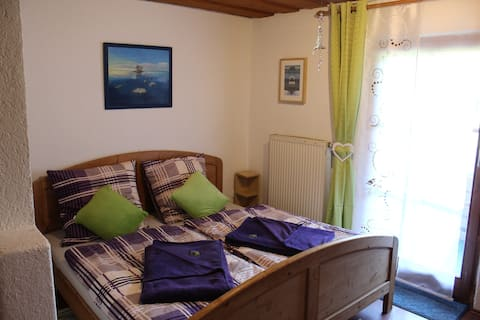 Double room in spiritually guided house Sonnenberg
