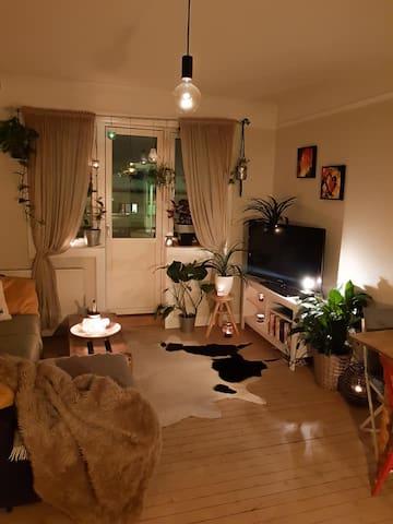 Cozy top floor apartment- with balcony!
