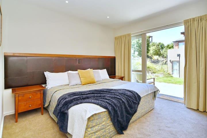 Bedroom 2 has a Super king bed