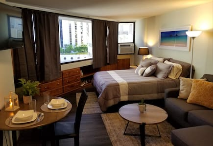 NEWLY RENOVATED STUDIO IN THE HEART OF WAIKIKI