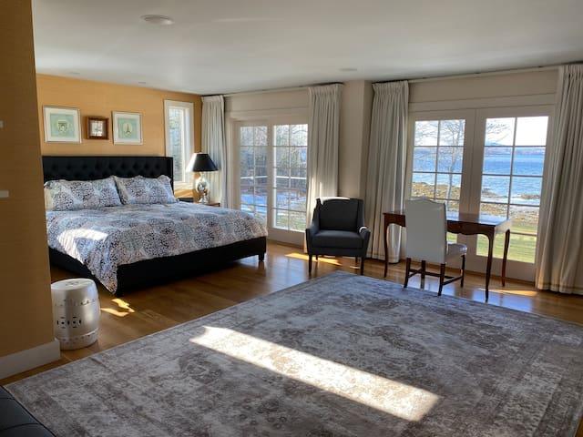 Master bedroom with nonstop ocean views