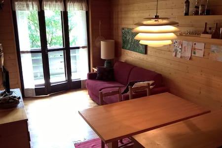 Appartamento luminoso con vista montagna - Madesimo - Apartemen