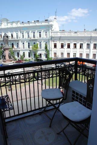 One of 2 Balcony.