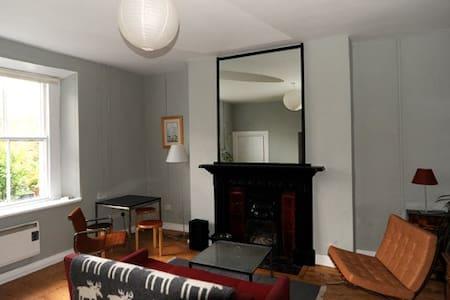 Victorian garden level apartment