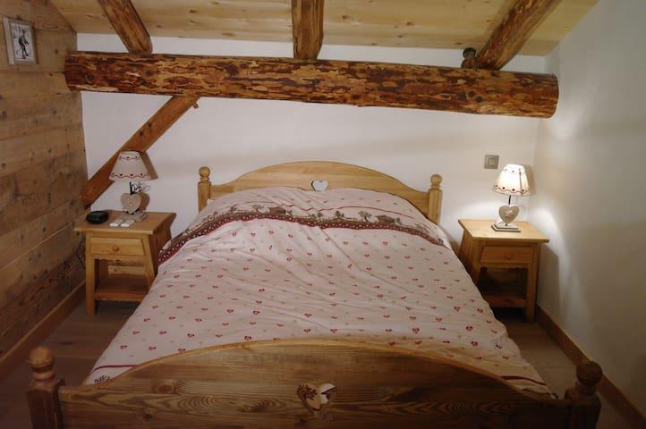 Coquette chambre d'hôtes à Megève - Megève - Bed & Breakfast