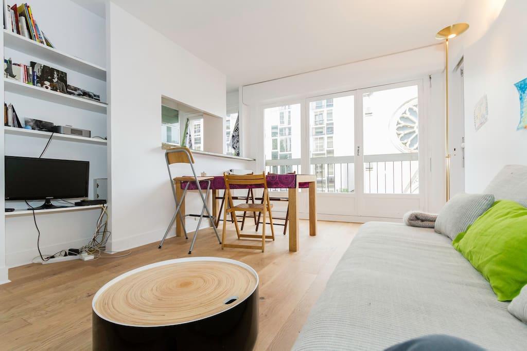 Entre montparnasse et tour eiffel appartements louer paris le de fran - Airbnb paris montparnasse ...