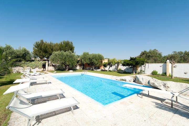 """""""La Chiesura 1"""" appartamento in villa con piscina"""