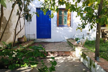 Roman Kiln underpinning a traditional Cretan house - Vori
