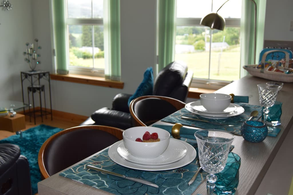 Retreat to the Islay Apartment for a relaxing stay.