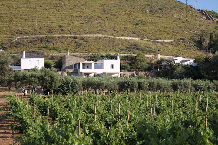 Red Tractor Farm on KEA island! - Korissia