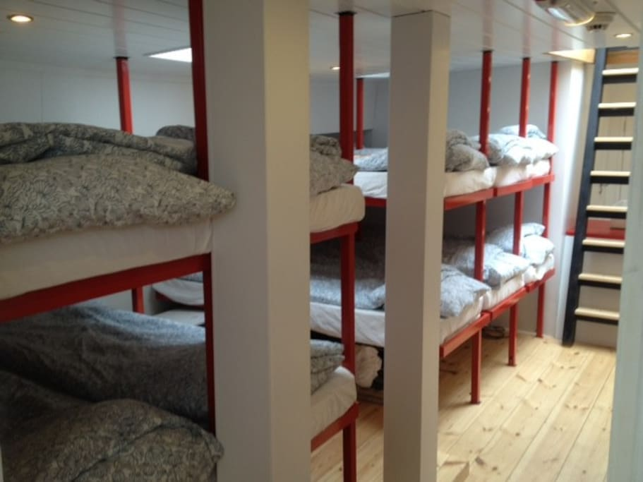 Bunk beds on Portside