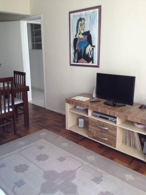 tv Led e home theater