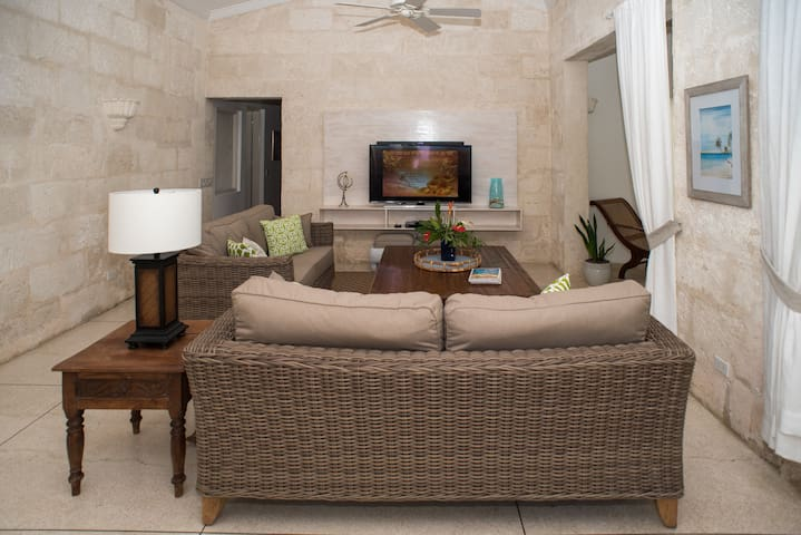 Smart TVs, Entertainment, Broadband Internet Wi-Fi throughout the entire property inside and out.