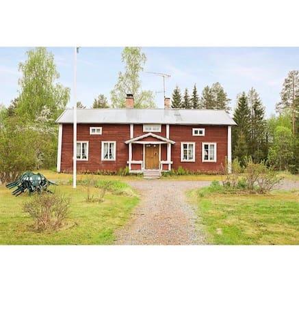 Eget hus på landet i Hälsingland