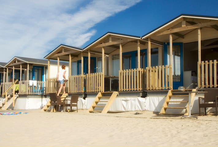 Luxe strandhuisjes OP het strand!
