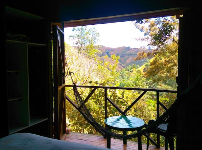 View down valley from the Main Bedroom - the Eagle's Nests - Vilcabamba