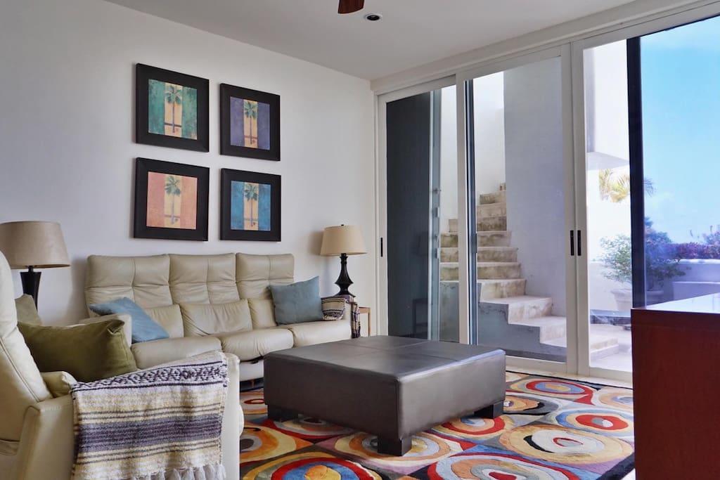 Comfortable & spacious living area