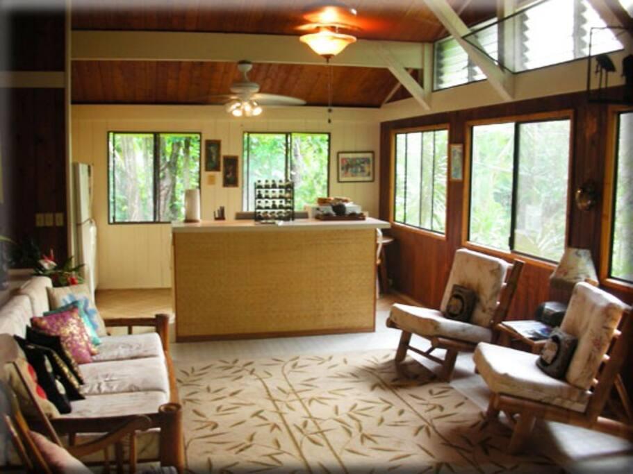Garden Upper Residence Living Room