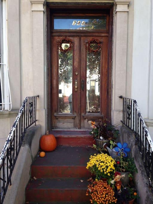 Charming front door