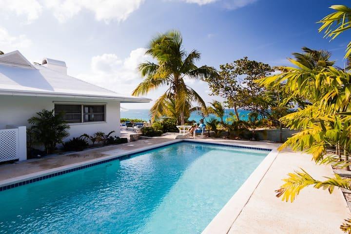 Stunning Beachfront with Pool